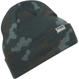 Bergans Camouflage Beanie, forest frost/light forest frost/green mud